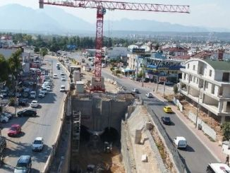 Antalya etapa tren sistemaren proiektuak abiadura bizian jarraitzen du