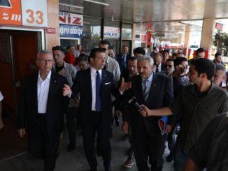 Predsjednik imamoglu pregledao je napuštenu haremsku autobusku stanicu na njegovu sudbinu