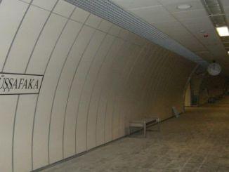 estación de metro de Darussafaka