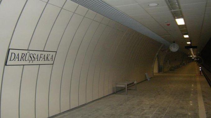 estación de metro darussafaka