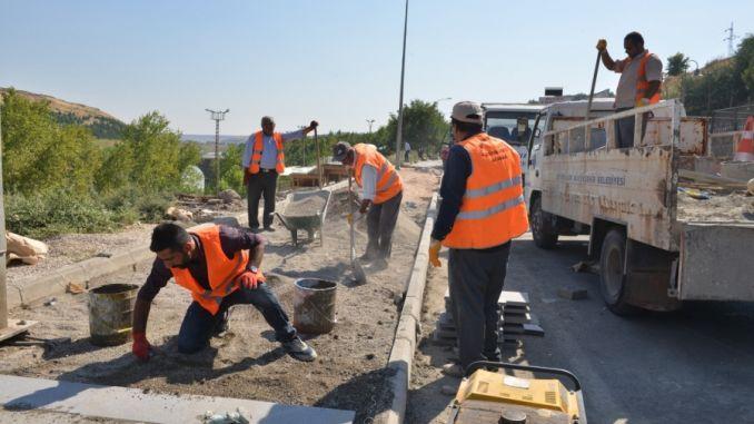 diyarbakir on kahjustatud ja poole ülejäänud kõnniteed remonditakse
