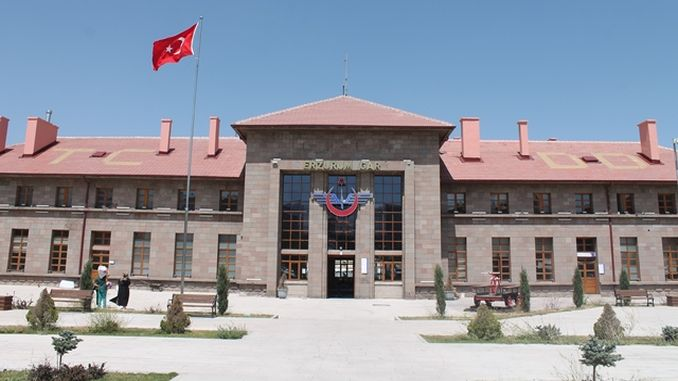 Centennial Vehicles Exhibited at Erzurum Gar Museum Sheds Light on History