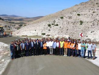 kilometra betonska cesta završena u eskisehiru