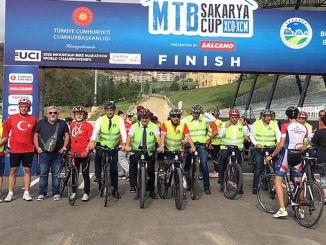 folk cycling tour ended in aycicegi valley