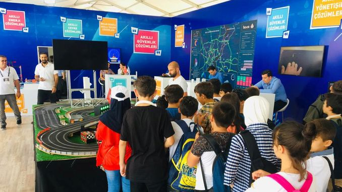 ibb's smart city projects in teknofest