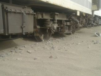 accident de tren ferit a Irlanda