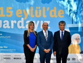 asiatiske giganter markerer den internationale messe i izmir