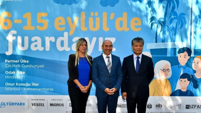 asian giants will mark the international fair in izmir