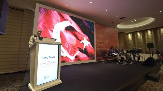 international trade fair started at izmir fair