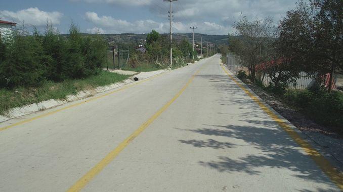 concrete road to izmit gedikli and zeytinburnu