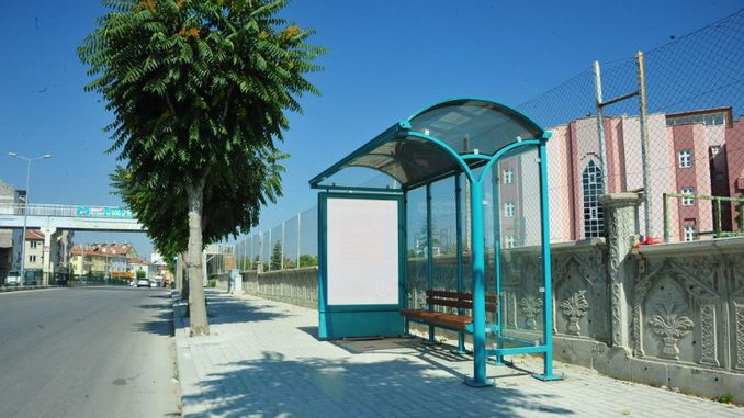 bus stops are renewing