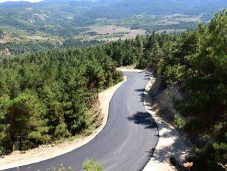 cesta skijališta keltepe je asfaltirana