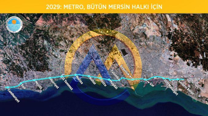 мітральная лінія метро