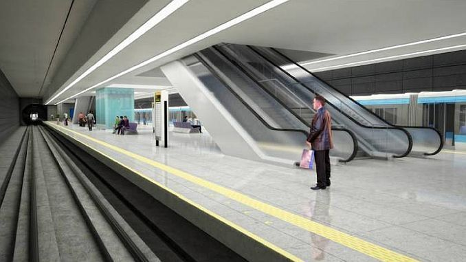 mersin metro investment program