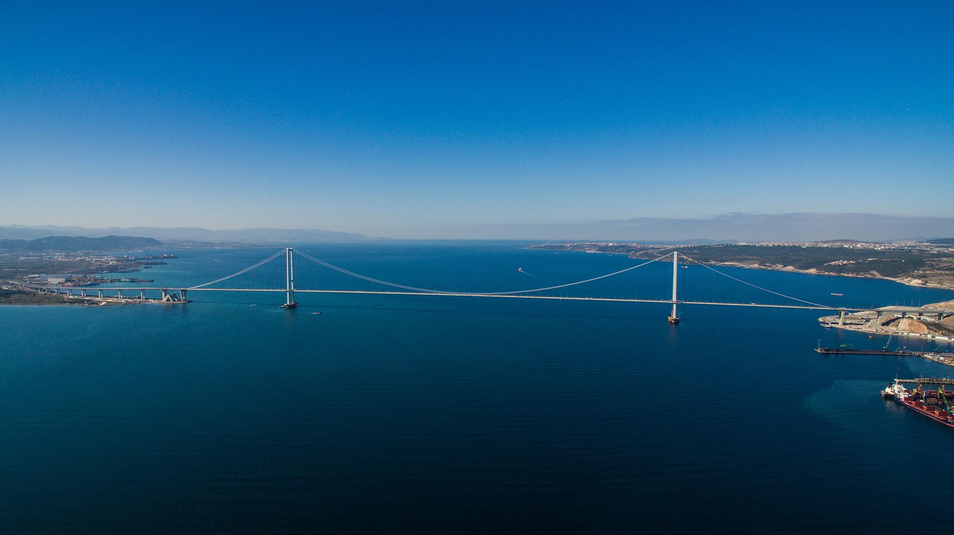 Osmangazi-Brückenprojekt
