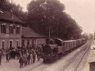 Eisenbunntransport am ottomanesche Keeser