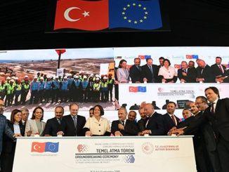 rekordna europska azijska željeznica koja je financirala eu postavila je temelje
