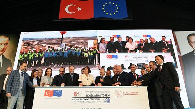 record eu-financing na european asia riles na inilatag ang pundasyon