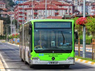 aumento das tarifas de transporte masivo en sakaria