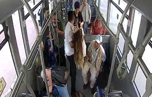 ulasimpark soforu baygin viis reisijad haiglasse