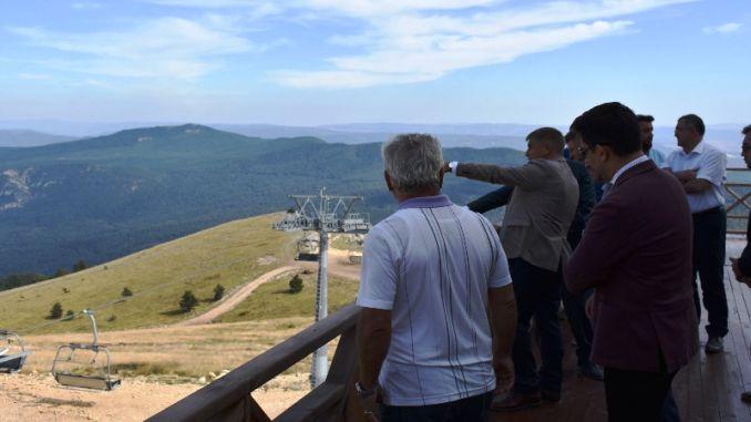 Governor Gurel visited the Keltepe ski resort