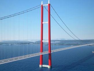 jambatan canakkale nandaan daérah