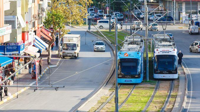 Public Transport in October in Antalya