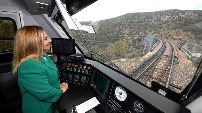 anatolian dmu national train set usakta test drive started