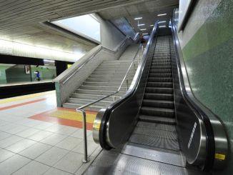 ankara metro istasyonlarinda calismayan yuruyen merdivenler