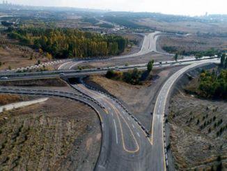 alivio do tráfico ankara con estradas de conexión