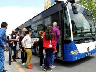 transportation support is given to low-income students in ankara