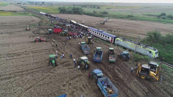 u ghjurnalistu mustafa Hosa chì investigheghja a tragedia di u corlu ferroviariu