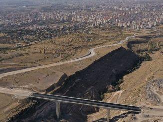 Viadugu-ul Derevenk și drumurile de legătură sunt atinse