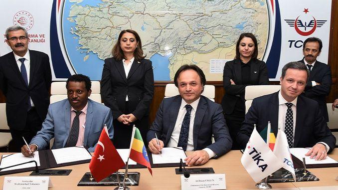 etiyopya ile demiryolu sektorunde is birligi gelistirilecek