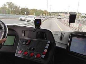 safe driving and telemetry system to prevent metrobus accidents