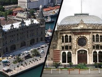 haydarpasa and sirkeciyi stops of the people of Istanbul