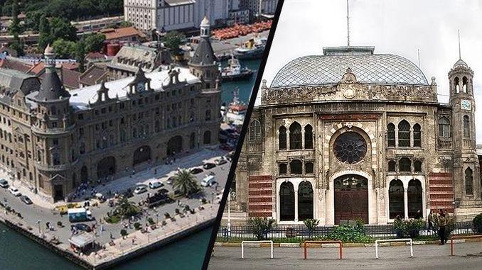 haydarpasa na sirkeciyi ukwu nke nrọ apughi inapu ndi nke Istanbul