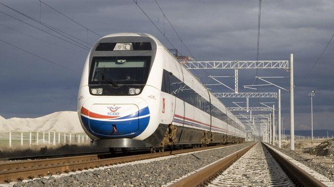 vinnige trein na Malatyaya