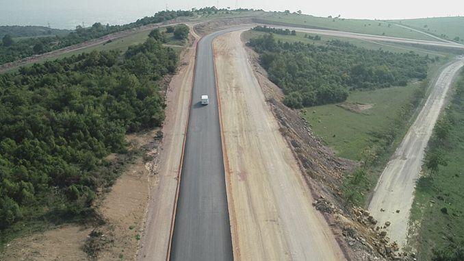 ilimtepe道路が更新されています