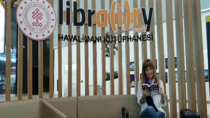 более тысячи работ встретят читателей в аэропорту Стамбула