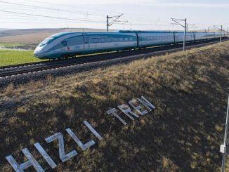 Измир дэх хурдны галт тэрэг
