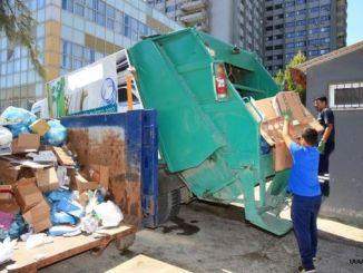 milioane de tone de deșeuri colectate în municipalitățile din izmir