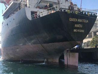 izmit korfez အားညစ်ညမ်းစေသောသင်္ဘောသို့အပြစ်ပေးအရေးယူ