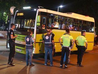 громадські автобуси оглянуті на безпечне перевезення