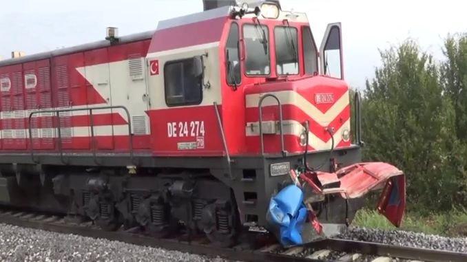 Kutahyada train accident injured heavy people