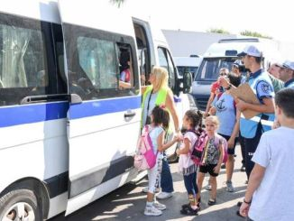 The services are continuously monitored for safe and comfortable transportation of students in Mersin