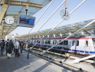 Метро Стамбула пабіў пасажырскі рэкорд у пятніцу