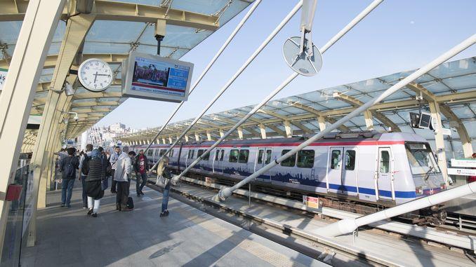 Istanbul Metro purustas reedel sõitjate rekordi