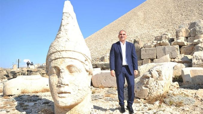 transportation to nemrut mountain will be provided by rail system