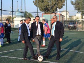 tcdd izmir region traditional football field football tournament started